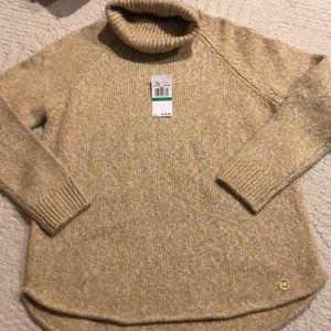 Michael Kors ladies turtleneck sweater size L